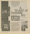 A World of Ineffable Joy: The Paintings of Donald Roller Wilson: A Sampler
