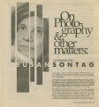 On Photography & Other Matters: An Interview With Susan Sontag