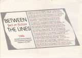 14th Annual Dominion University Literary Festival, 1991: Between the Lines: Fact or Fiction
