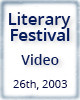 Peter Meinke, 26th Annual Literary Festival, 2003