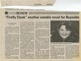 """Firefly Cloak"" Another Notable Novel for Reynolds"