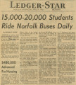 15,000-20,000 Students Ride Norfolk Buses Daily