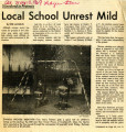 Local School Unrest Mild