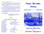 Douglas MacArthur Academy Superior Education in a Christian Atmosphere