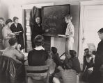 "Latin Class in The ""Little Schoolhouse"""