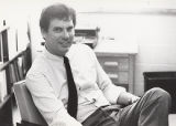 Dr. Philip Raisor at His Desk