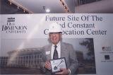 Ted Constant at Groundbreaking Ceremony