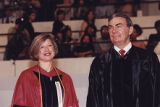 Provost Gora and Sam Donaldson