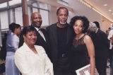 Danny Glover With ODU Student and Parents