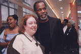Danny Glover With ODU Staff Member (I)