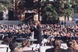 Nancy K. Klein Leading Old Dominion University Concert Choir and Band (II)
