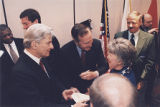 Bush and Warner with Supporter (I)