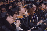 Blowing Bubbles at 1998 Commencement Exercises (II)