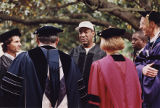 Bill Cosby Talking to University Administration and Faculty