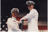 Admiral With Naval Officer