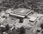 Physical Education Building Construction, Aerial view