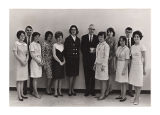 Delta Phi Omega Group Photo-1967
