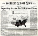 Reporting Service to Tell School Story: Legal Status of Segregation in the Public Schools