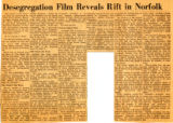 Desegregation Film Reveals Rift in Norfolk