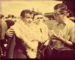 Russell Stanger and Leonard Bernstein in Hawaii (I)