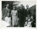 Russell and Herbert Stanger with Relatives