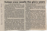 Vulcan Crew Recalls the Glory Years