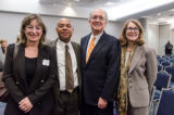 Guests at the 2013 Waldo Family Lecture Reception -6