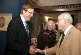 Kempe and Whitehurst  at the 2010 Waldo Family Lecture reception