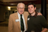 Whitehurst and Branco at the 2010 Waldo Family Lecture reception