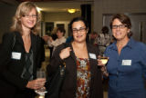 Lamer, Huizar, and Hirschauer at the 2010 Waldo Family Lecture reception