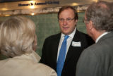 Frederick Kempe at the 2010 Waldo Family Lecture reception