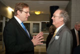 Kempe and Waldo at the 2010 Waldo Family Lecture reception