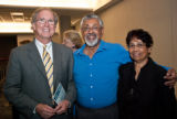 Waldo and De Silvas at the 2010 Waldo Lecture reception