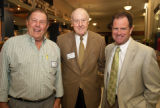 Holland, Whitehurst and Broderick  at the 2010 Waldo Family Lecture reception