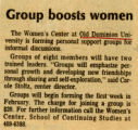 Group Boost Women
