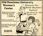Old Dominion University Women's Center Presents the Every Woman's Festival
