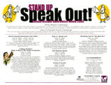 Stand Up! Speak Out! Sexual Awareness Week 2009