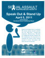Sexual Assault Awareness Month: Speak Out and Stand Up