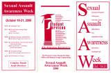 Sexual Assault Awareness Week Oct. 16-21