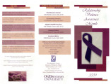 Relationship Violence Awareness Month 2009