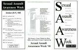 Sexual Assault Awareness Week Oct. 26-31
