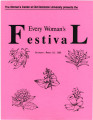 The Women's Center at Old Dominion University Presents the Every Woman's Festival