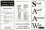Sexual Assault Awareness Week Oct. 25-29