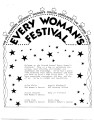 The Old Dominion University Women's Center Announces the Second annual Every Woman's Festival