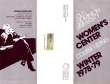 Old Dominion University Women's Center Course Listing Winter 1978-79