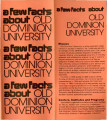 A few facts about Old Dominion University
