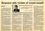 Response aids victims of sexual assault
