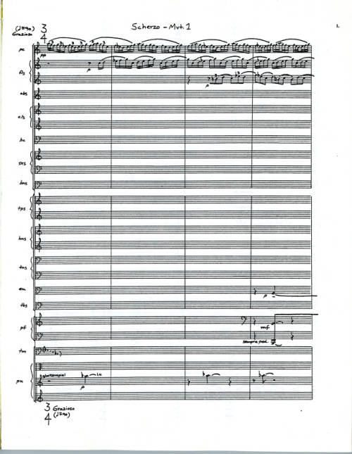 Concerto For Wind and Percussion Orchestra